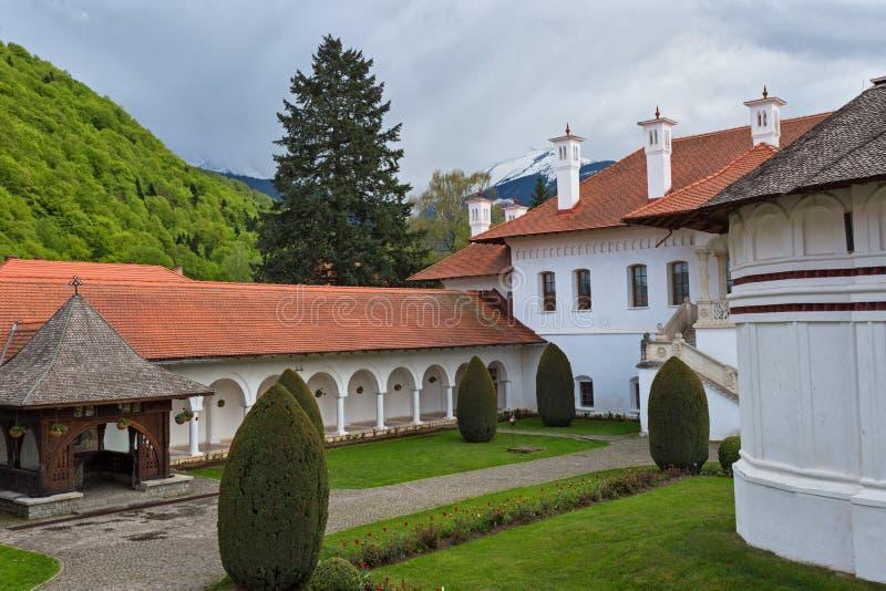 Kloster Sambata de Sus lizenzfreie stockfotos