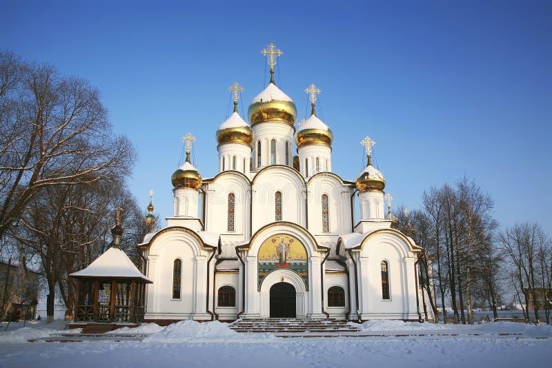 Kloster St. Nicholas Kathedrale Nicholas Pereslavl Zalessky Region Yaroslavl, Goldener Ring stockbild