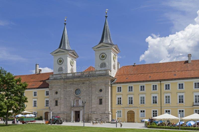 Kloster Tegernsee arkivfoton