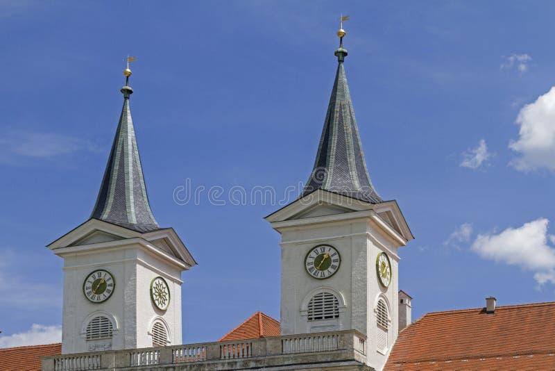 Kloster Tegernsee royaltyfria bilder