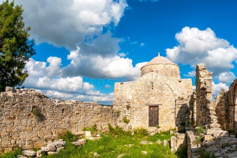 Kloster Timiou Stavrou Anogyra-Dorf Limassol-Bezirk stockfotografie