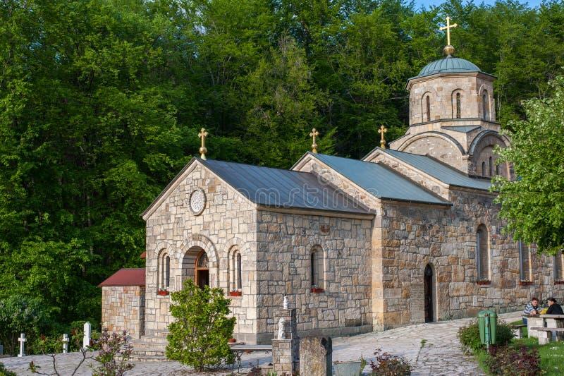 Kloster Tresije stockbilder