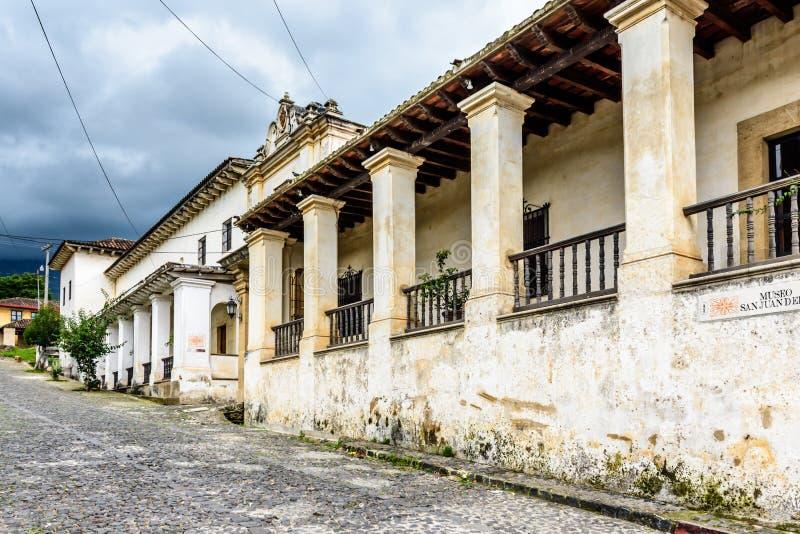 Kloster u. Museum, San Juan del Obispo, Guatemala stockbild