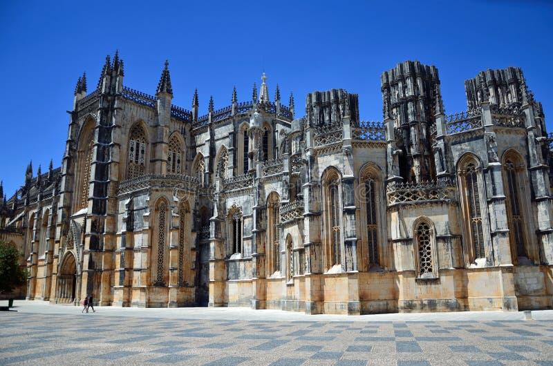 Kloster von Batalha stockbild