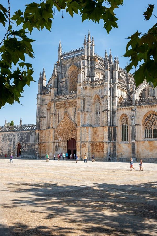 Kloster von Batalha Portugal lizenzfreies stockfoto