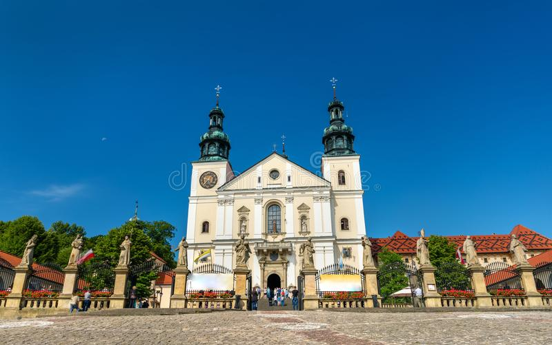 Kloster von Kalwaria Zebrzydowska, eine UNESCO-Welterbestätte in Polen lizenzfreie stockfotografie
