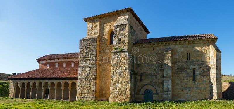 Kloster von San Miguel de Escalada in Leon Spain lizenzfreie stockfotografie