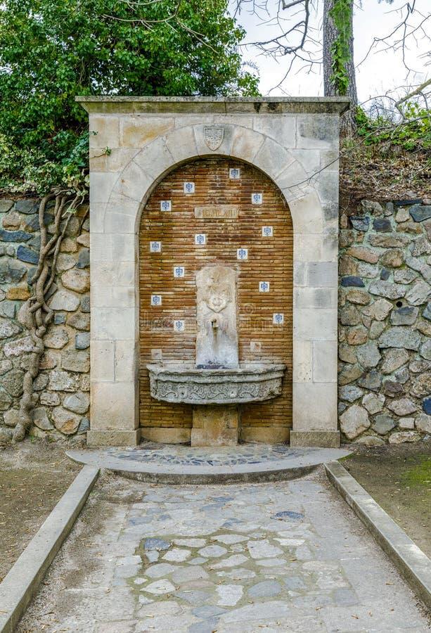 Kloster von Santa Maria de Poblet Spain lizenzfreie stockfotografie