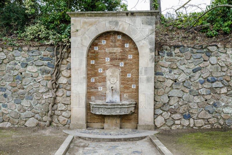 Kloster von Santa Maria de Poblet Spain stockfoto