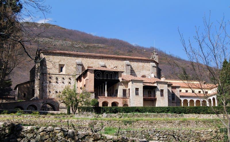 Kloster von Yuste lizenzfreies stockbild