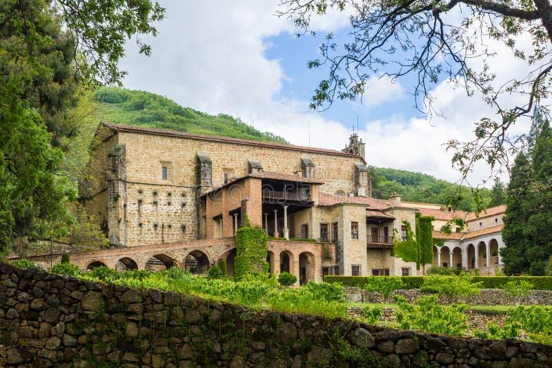 Kloster von Yuste, Extremadura, Spanien lizenzfreie stockfotos