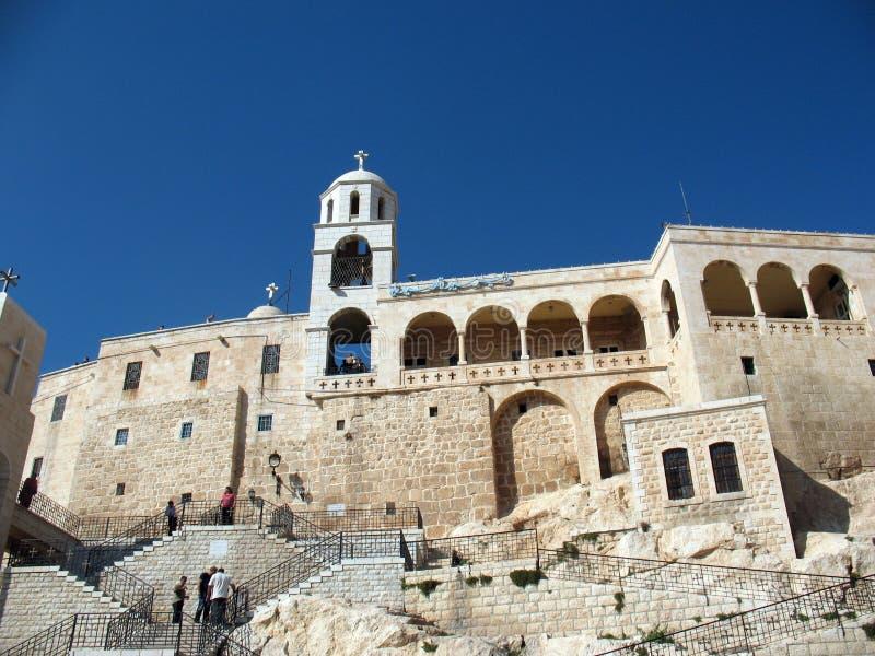 klostersafyta syria royaltyfri bild