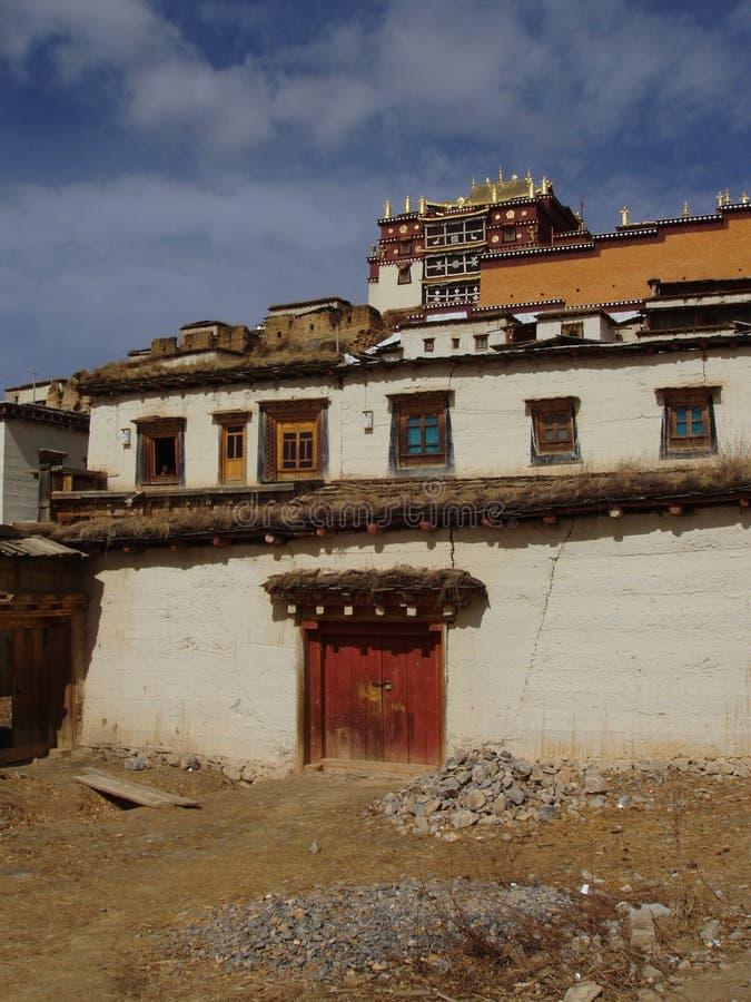 klostersongzanlin royaltyfri foto