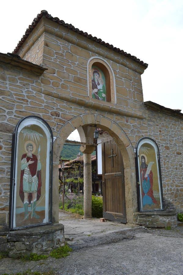 """Kloster""""TheKristi födelse av modern av God† royaltyfri fotografi"""