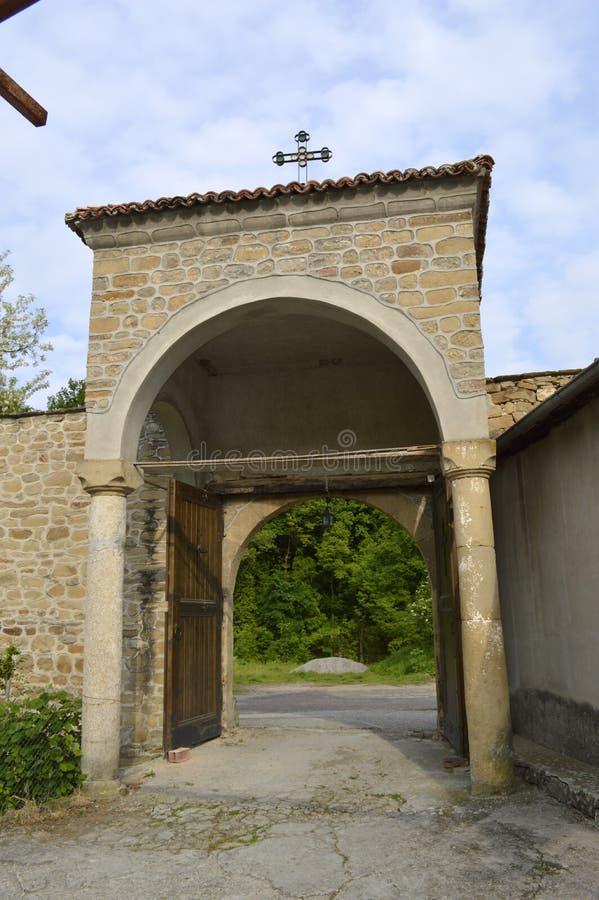 """Kloster""""TheKristi födelse av modern av God† arkivfoton"""