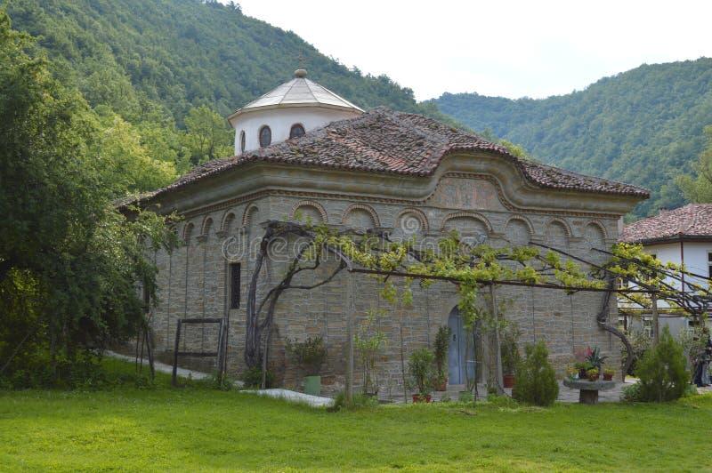 """Kloster""""TheKristi födelse av modern av God† royaltyfri bild"""