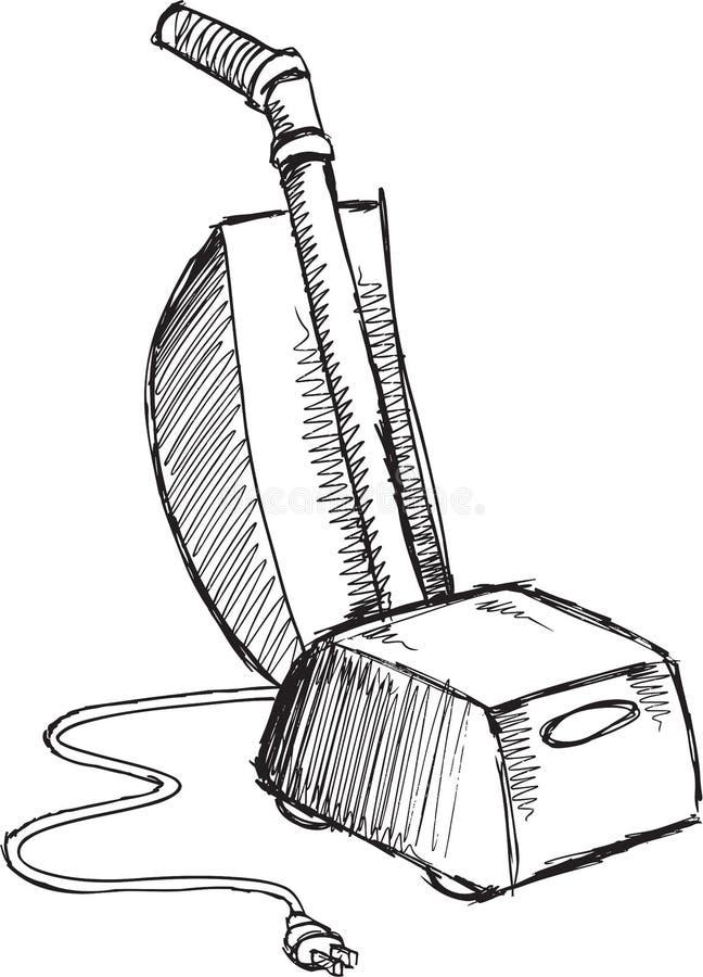 Klottervakuumvektor royaltyfri illustrationer