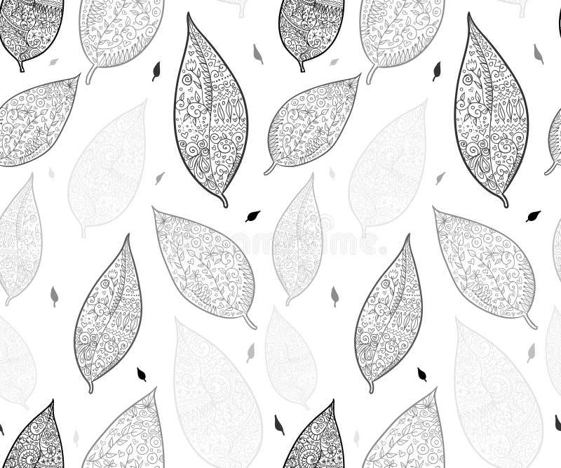 Klottret texturerade sidor seamless modell vektor illustrationer