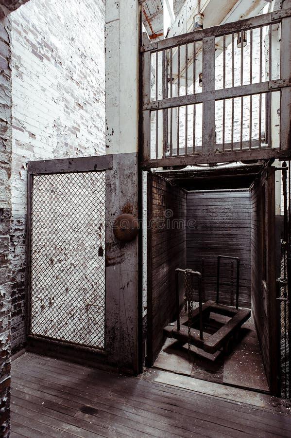 Klotz Throwing Company/Lonaconing-Zijdemolen - Lonaconing, Maryland royalty-vrije stock afbeeldingen