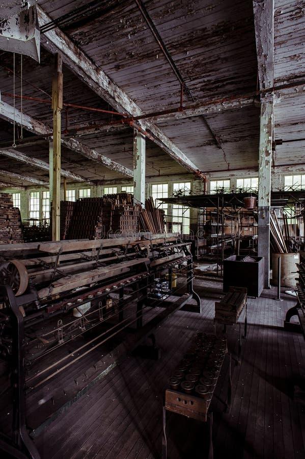 Klotz Throwing Company/Lonaconing-Zijdemolen - Lonaconing, Maryland royalty-vrije stock afbeelding