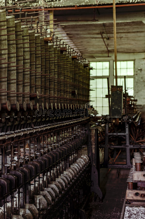 Klotz Throwing Company/Lonaconing-Zijdemolen - Lonaconing, Maryland stock fotografie