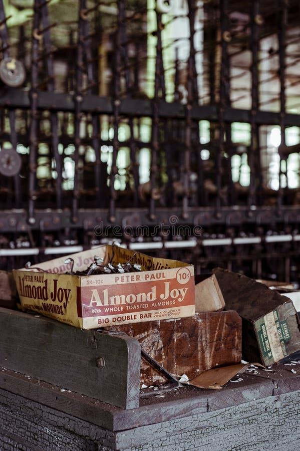Klotz Throwing Company/Lonaconing-Zijdemolen - Lonaconing, Maryland royalty-vrije stock foto's