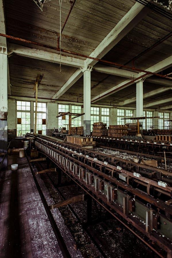 Klotz Throwing Company/Lonaconing-Zijdemolen - Lonaconing, Maryland stock afbeelding