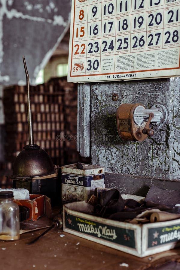 Klotz Throwing Company/Lonaconing-Zijdemolen - Lonaconing, Maryland stock foto's