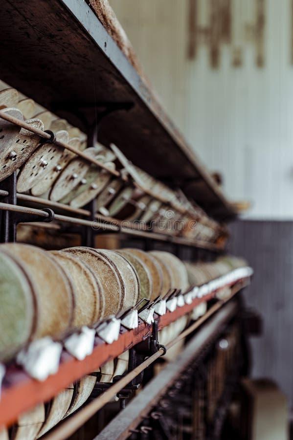 Klotz Throwing Company/Lonaconing-Zijdemolen - Lonaconing, Maryland stock foto