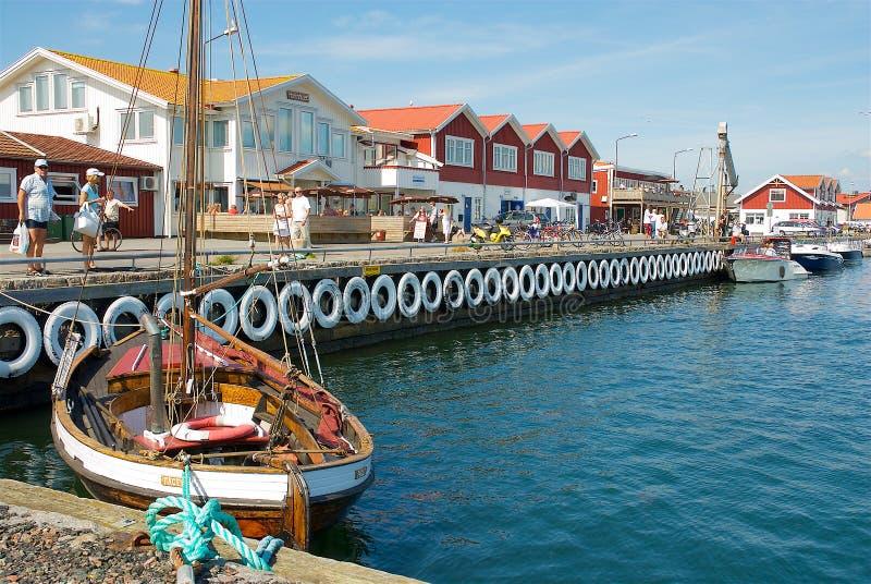 Klova de Hönö na costa oeste na Suécia imagens de stock royalty free