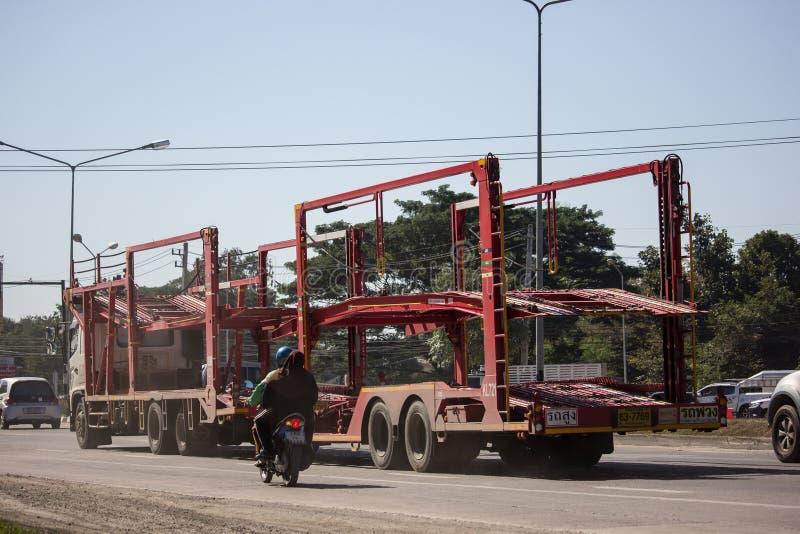 KLTL-de Vrachtwagen van de drageraanhangwagen stock fotografie