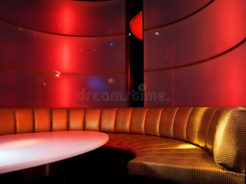 klub nocny wewnętrznego zdjęcie royalty free