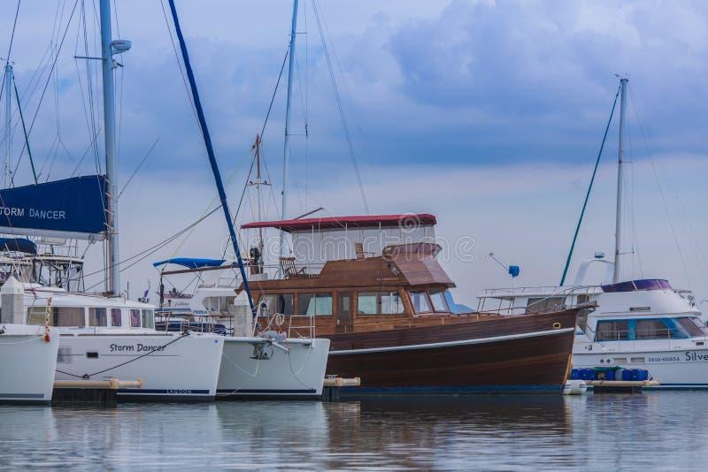 Klubba för havmarinayacht royaltyfri foto