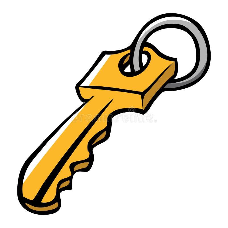klucz royalty ilustracja