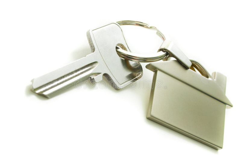 klucz do domu zdjęcie royalty free