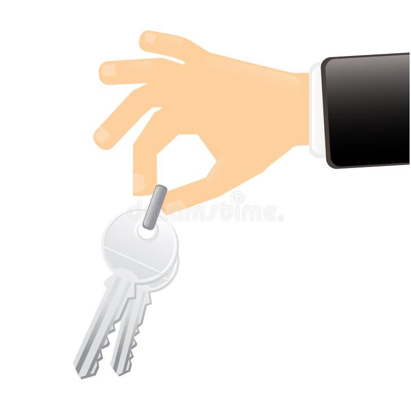 klucz do domu ilustracja wektor