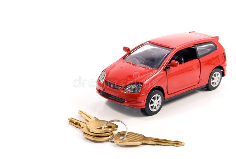 klucz do samochodów zabawka obrazy stock