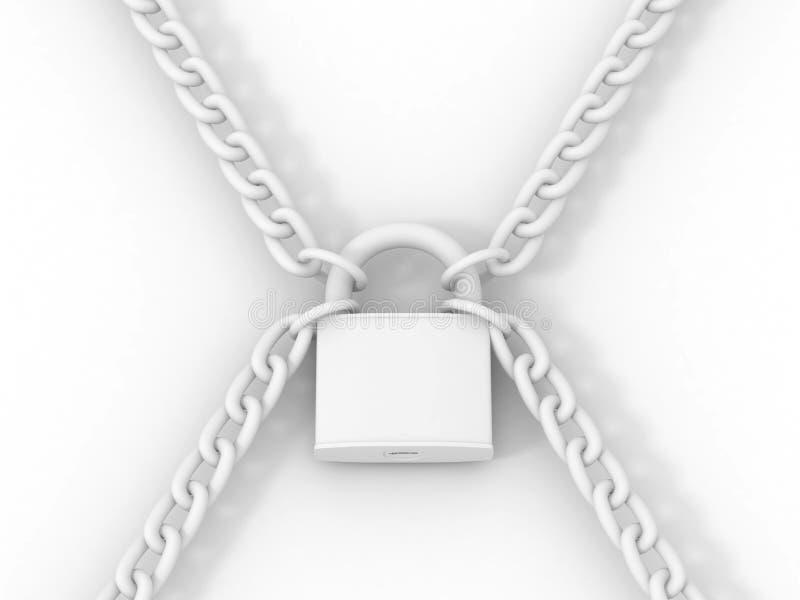 Download Klucza łańcuszkowy Kędziorek Ilustracji - Ilustracja złożonej z strażnik, hasło: 13341957