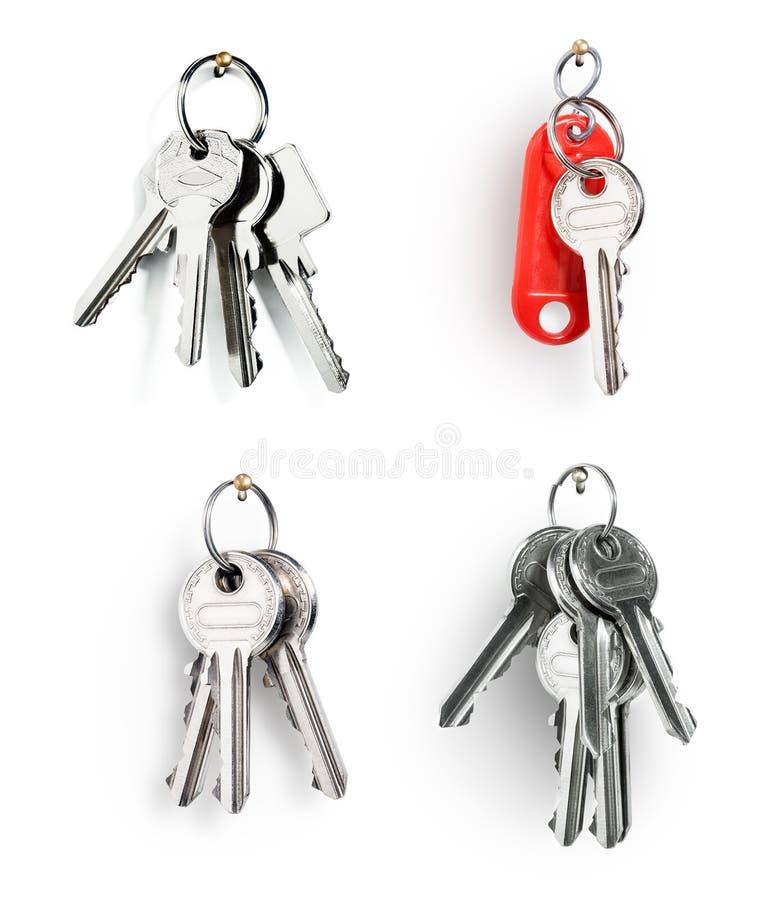 klucza pierścionek fotografia stock