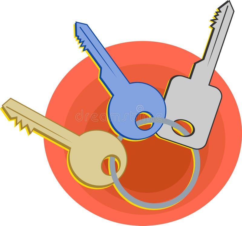 klucze ilustracji