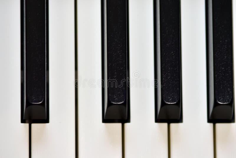 Klucze cyfrowy pianino, mi?kki ogniskowanie, kreatywnie nastr?j osoby improwizacja i tw?rczo??, obraz stock