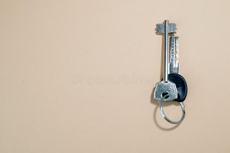 klucze do domu zdjęcia stock