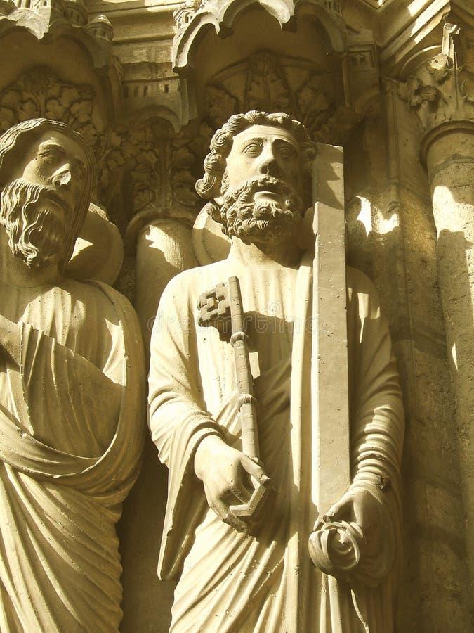 kluczową człowiek rzeźby zdjęcie royalty free