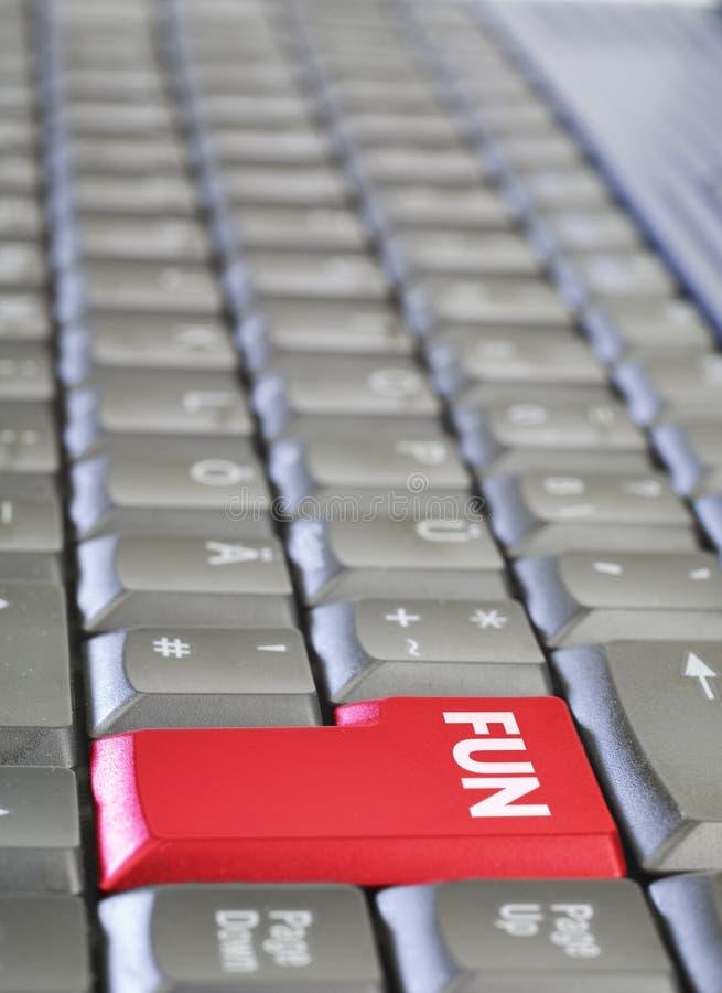 kluczowa zabawy klawiatura obrazy stock