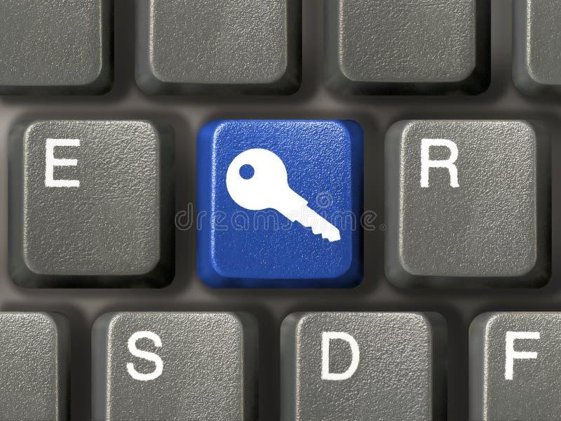 kluczowe klawiaturowa ochrony obrazy royalty free