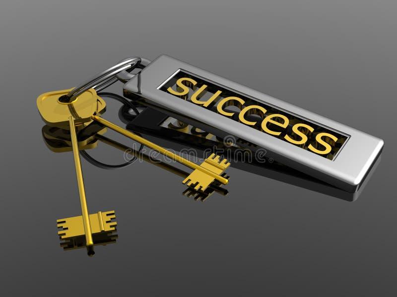 kluczowy sukces ilustracja wektor