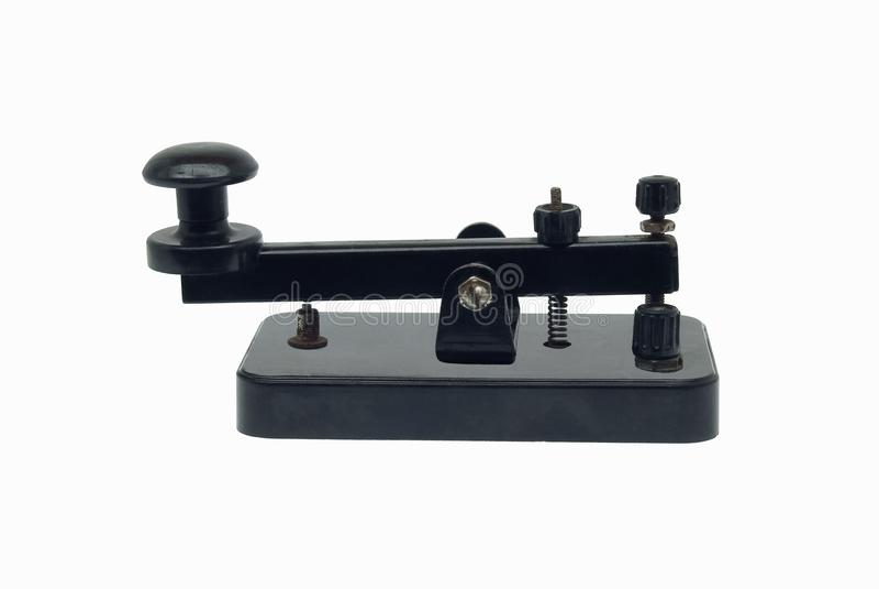 kluczowy telegraf fotografia stock