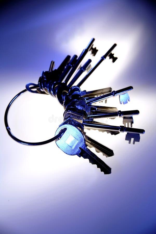 kluczyki keyring obrazy stock