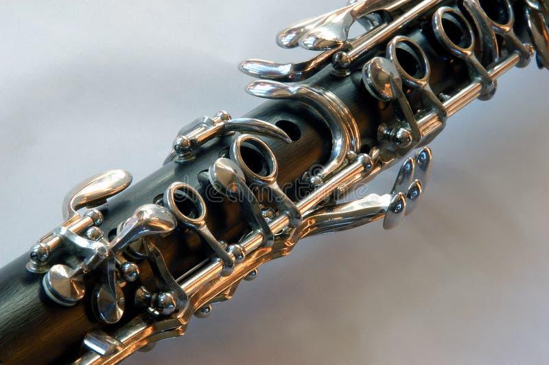 kluczyki klarnetów obraz stock