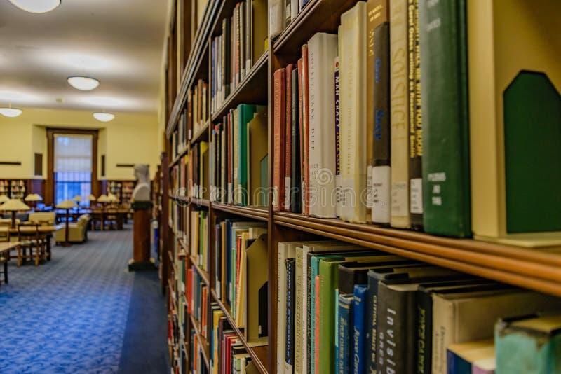 Kluge Bibliothek bei West-Virginia University stockbild